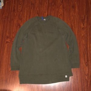 Dark Green H&M Sweater